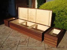 amazing diy patio storage bench with outdoor seating with storage outdoor storage bench seat planter