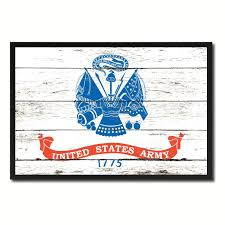 us army 1775 military flag canvas print picture frame home decor wall art gifts art force office decoration