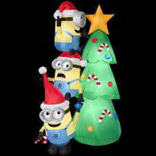 Inflatable Minions For Christmas, Holidays | Santa's Site