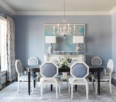 Creative Blue Dining Room With Contemporary Dark Blue Dining Room