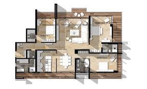 luxury apartment floor plans 3 bedroom. Delighful Bedroom More 5 Spectacular Luxury 3 Bedroom Apartments Intended Apartment Floor Plans 2