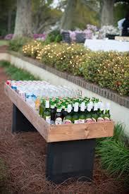 Table Drinks Cooler Remodelaholic Brilliant Diy Cooler Tables For The Patio With