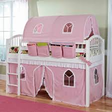 Pink Girls Canopy Bed