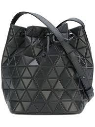 Japanese Designer Bag Geometric Bao Bao Issey Miyake Lander Bucket Tote Designer Shoulder