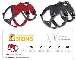 Ruffwear Harness Size Chart Ruffwear Web Master Harness