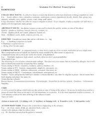 Medical Transcription Resume Format Sample Medical Transcription