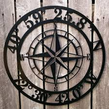 wall compass compass rose latitude longitude metal wall art compass wall sticker wall compass