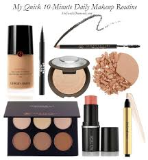 my quick 10 minute daily makeup routine she sweats diamonds