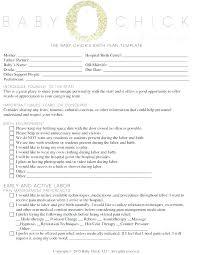 Home Birth Plan Worksheet Home Birth Plan Template Elegant Best And Postpartum Hospital Luxury