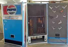 Vintage Pepsi Vending Machine Parts Mesmerizing Soda Machine Gun Safes 48 Brands BEACH
