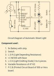 auto street light switch using ldr and ic 555 5 steps picture of check your circuit on a b board