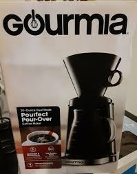Shop gourmia at the amazon coffee, tea, & espresso store. Gourmia Gcm3250 Digital Touch Pour Over Coffee Maker Automatic And Manual For Sale Online Ebay