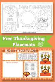 Free Thanksgiving Templates For Word Thanksgiving Placemat Free Kids Printable
