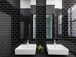 bathroom tiles black and white. Contemporary Black Black And White Bathroom Tiles Ideas  Melbourne Luscombe In And V