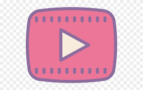 Youtube Clipart Youtube Icon Transparent Like Youtube Png Pink Clipart
