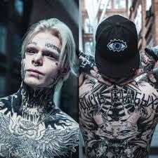 как живут люди с татуировками на лице блоги отр общественное