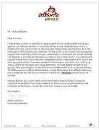 reviews atlanta magician michael boone magician michael boone atlanta b reference letter