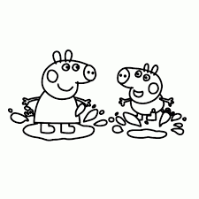 65 Kleurplaat Peppa Big Amazing Coloriage