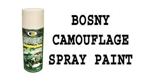 Bosny Spray Paint Color Chart Bosny Ph Camouflage Spray Paint