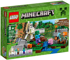 Mua đồ chơi LEGO Minecraft 21123 - Golem Sắt Khổng Lồ của Alex (LEGO  Minecraft The Iron Golem 21123)