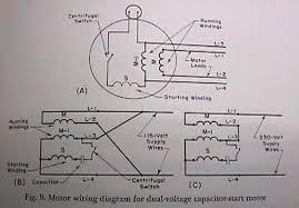 dual voltage single phase motor wiring diagram facbooik com Dual Voltage Single Phase Motor Wiring Diagram dual voltage single phase motor wiring diagram facbooik Single Phase AC Motor Wiring