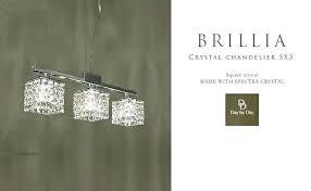 brushed nickel crystal chandelier 3 light pendant home decorators collection brushed nickel crystal chandelier bay bronze