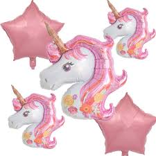 Online Shop 5pcs Large 116CM Rainbow <b>Unicorn Balloons Unicorn</b> ...