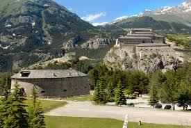Marie-Thérèse Castle in Avrieux - French Alps - Savoie Mont Blanc