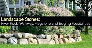 garden edging stone. Landscape Rock Border Stone Wall Garden Edging Stones Moss Borders
