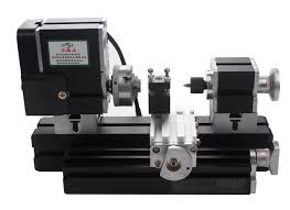 60w 12000 r min high quality motorized mini metal working lathe machine diy tool