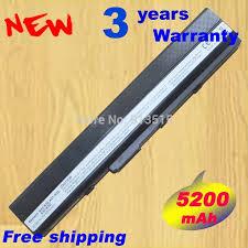 <b>5200mAh 6cells laptop</b> battery for ASUS K42 K52 A52 A52F A52J ...