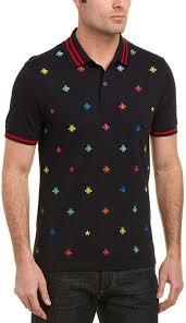 Gucci Bee Star Polo Shirt Products Gucci Polo Shirt Polo