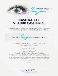 Cash Raffles Mercy Service League Fundraiser 10 000 Cash Raffle