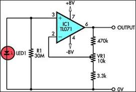 infrared motion sensor circuit diagram images infrared sensor light sensor circuit page 2 laser led circuits nextgr