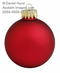 red christmas ornaments clipart.  Christmas In Red Christmas Ornaments Clipart I