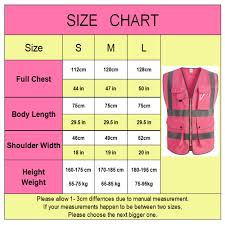 Us 12 4 27 Off Pink Safety Vest Women High Visibility Work Clothes Uniforms With Pockets In Safety Clothing From Security Protection On Aliexpress