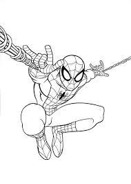 Spiderman 4 Kleurplaat Jouwkleurplaten