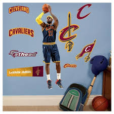 about this item on cleveland cavaliers wall art with cleveland cavaliers fathead decorative wall art set 40 x3 x3