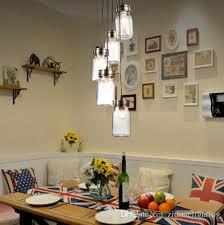 2016 new design loft retro industrials glass bottle pendant lights northern europe vintage antique glass edison pendant lamps fixtures kitchen hanging