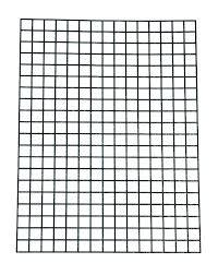 Printable Graph Paper Full Page 1 Inch Quarter Inch Graph Paper Eurotekinc Com