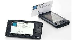Card Scanner Digital Job Profiling Pitrec Business Card Scanner