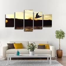 on hang ten wall art with hang ten multi panel canvas wall art elephantstock