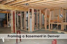 framing a basement in denver elkstone