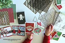 Stampin Up Seasonal Decorative Masks 100 ways to use Seasonal Decorative Masks or stencils Video Post 31