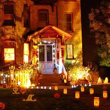 halloween outdoor lighting. Lighting Exteriors Photo Outdoor Halloween Decorations A