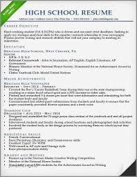 17 Luxury High School Resume Template Pics Telferscotresources Com