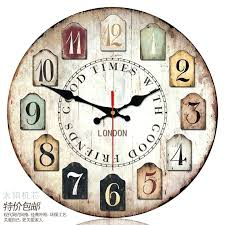 wall clock 16 inch contracted modern wall clock black and wh buy