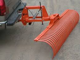 york rake for atv. pickup or suv mounted landscape rake with electric height adjustment, angles either left right york for atv r