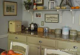 kitchen transformation in millstone milk paint general finishes design center