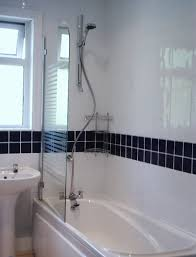 White Bathroom Tiles Border Ideas GMM Home Interior 94840